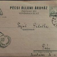 Egy levelezőlap és az Állami Áruház