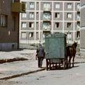 Nyugdíjazták a pécsi postakocsikat (1960)