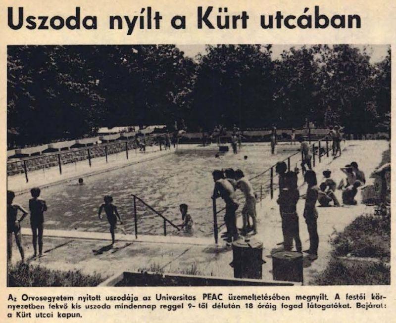 Pécsi fürdő nosztalgia