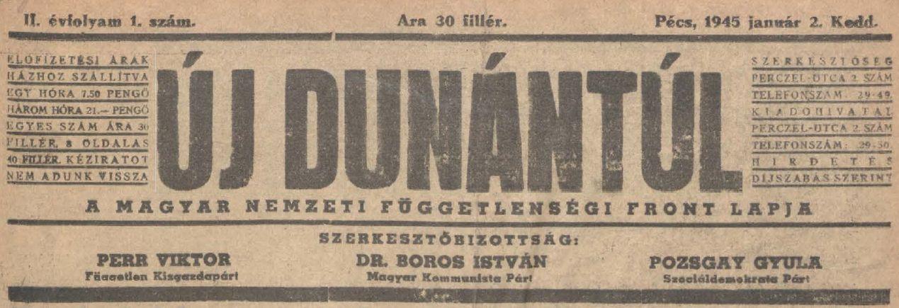 Pécs és a 70 éves forint