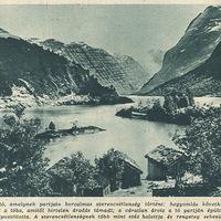 Hegyomlás a Loen-tónál - Képes Pesti Hírlap 1936 szeptember 17.
