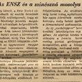 Az ENSZ és a színésznő mosolya - Népszabadság 1957. szeptember 14.