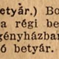 Az utolsó betyár - Pesti Hírlap 1921. december 17. szombat