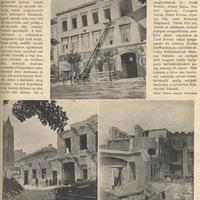 Ház bontása a Kálvin téren - 1914 június 21 - Az Érdekes Újság