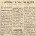 Mizserfa  - Népszabadság 1956. december 1.