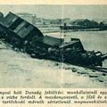 Baleset a lágymányosi Dunaág feltöltése során - 1937 június 24. Képes Pesti Hírlap