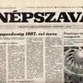 A népgazdaság örök tervei - Népszava - 1986 és 1987. december 27.