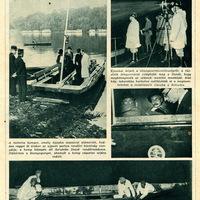 A dunai kompszerencsétlenség - 1936 június 17. Képes Pesti Hírlap