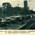 Végeláthatatlan kocsisor - Képes Pesti Hírlap 1936 június 16