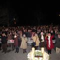 Ismét megdőlt egy rekord: Adventi gyertyagyújtás Sülysápon