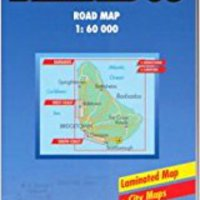  FREE  B&B Barbados Laminated Map (Road Maps). festival mejor click products Knowles