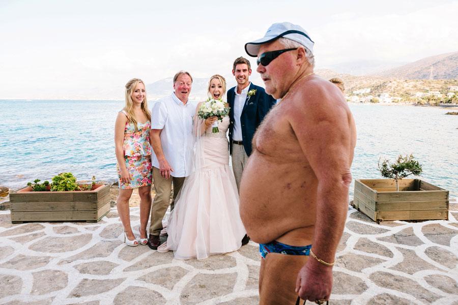 A szállodák és fürdőhelyek esküvői ajánlatából ez a jelenet valahogy kimaradt.