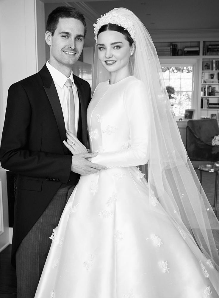 A Vogue augusztusi számához készültek a különleges esküvői fotók.