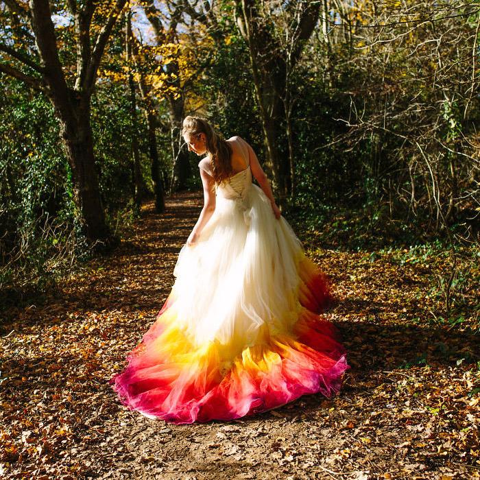 Ezek a képek már Felicity esküvőjének fotózásán készültek.