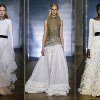 Meghan Markle az ő ruhájában ment férjhez: mesés kreációk a Givenchy vezető tervezőjétől