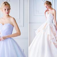 Mesebeli esküvői ruhák pasztellszínben