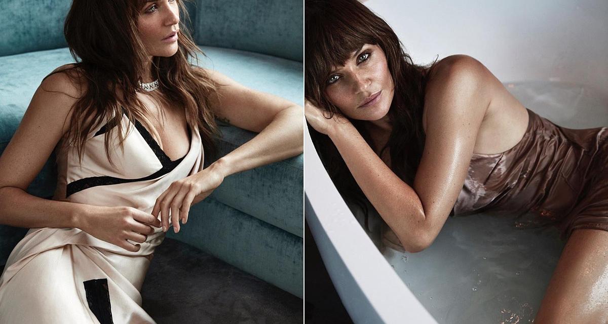 Fehérneműben mutatta meg magát a 49 éves modell: nem volt szükség Photoshopra