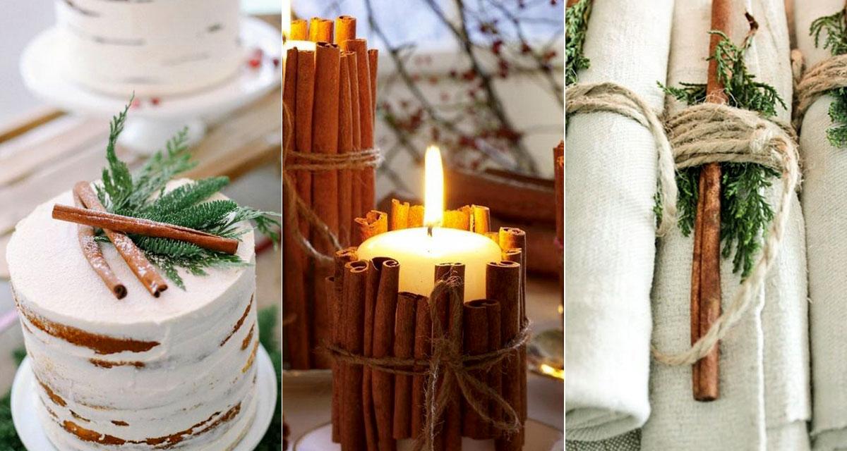 Így használd a fahéjat az esküvőn: csodás dekoráció lehet belőle