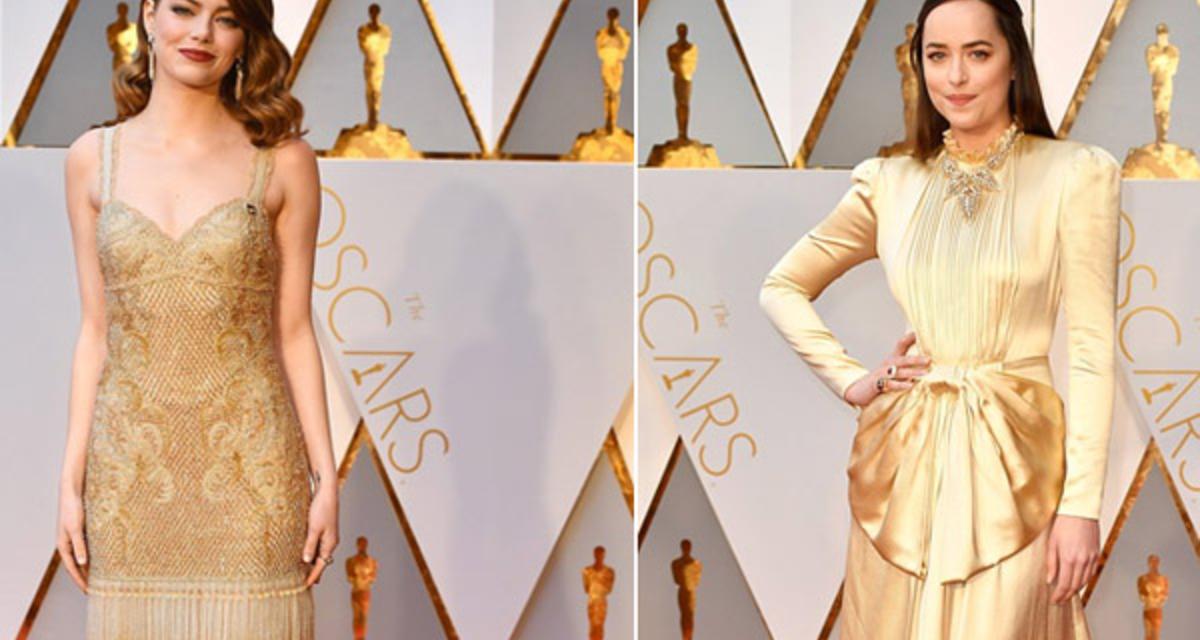 Kinek állt jobban? Hasonló ruhák, mégis nagy a különbség - Oscar 2017