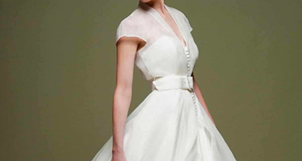 Gyönyörű, rövid esküvői ruhák: visszatér az '50-es évek divatja