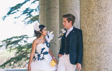 Ez a nő papírból készített magának esküvői ruhát - Úgy néz ki, mintha igazi lenne!