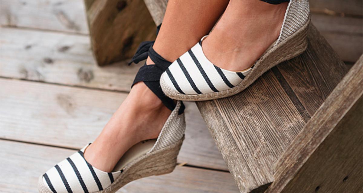 Minden nőt elcsábítanak: tündérien mutatós, fonott talpú cipők
