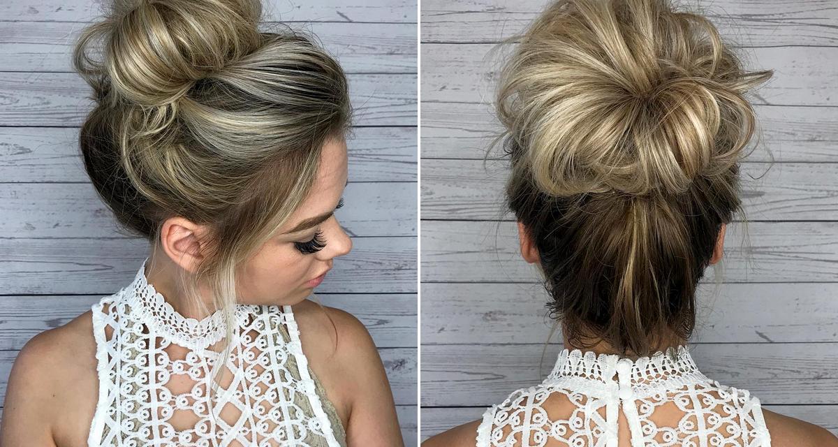 A leggyorsabb frizura meleg napokra: már vállig érő hajból is elkészítheted