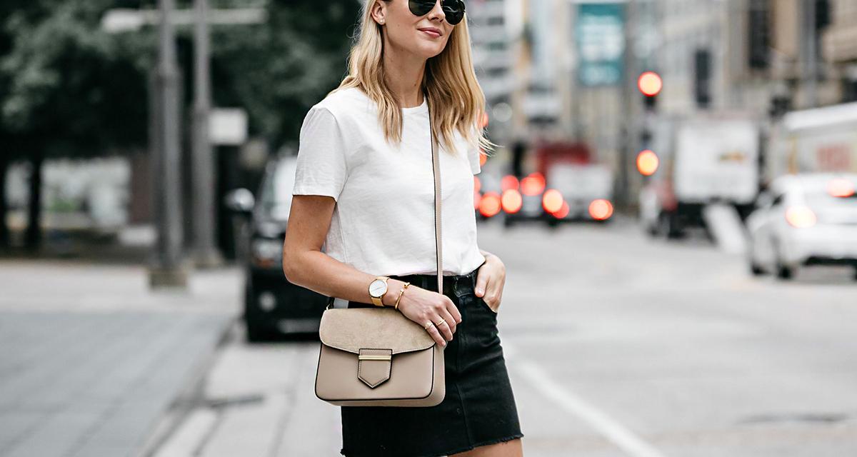 10 egyszerű mód, ahogy a fehér pólót viselheted: hogy változatos legyen