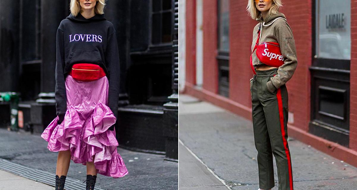 Visszatér az övtáska a divatba: nevetséges és stílusos is lehet