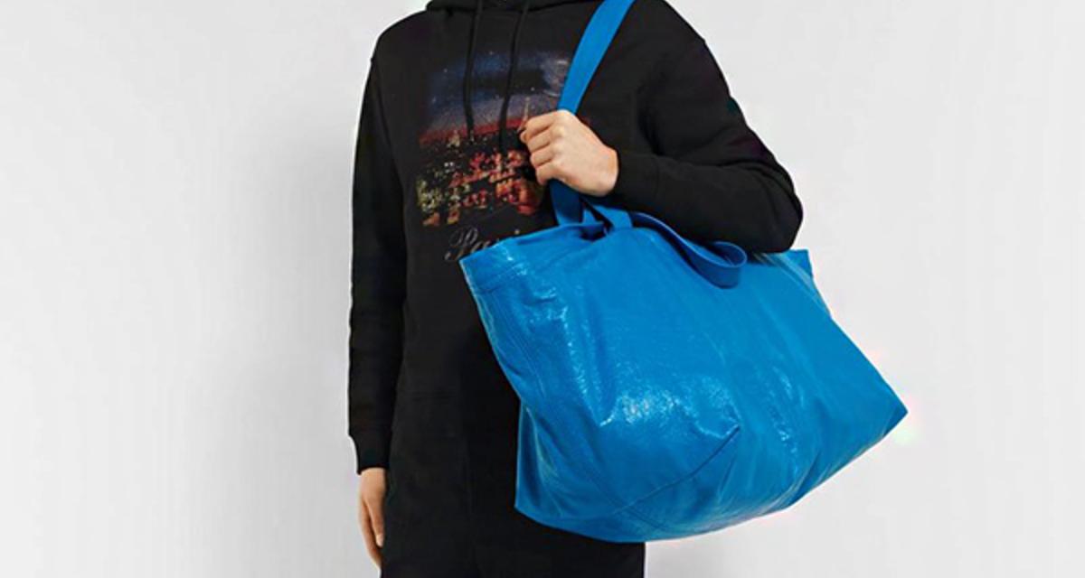 Vicces baki: luxuscikket csinált az Ikea táskájából a Balenciaga - Ezen behalsz!