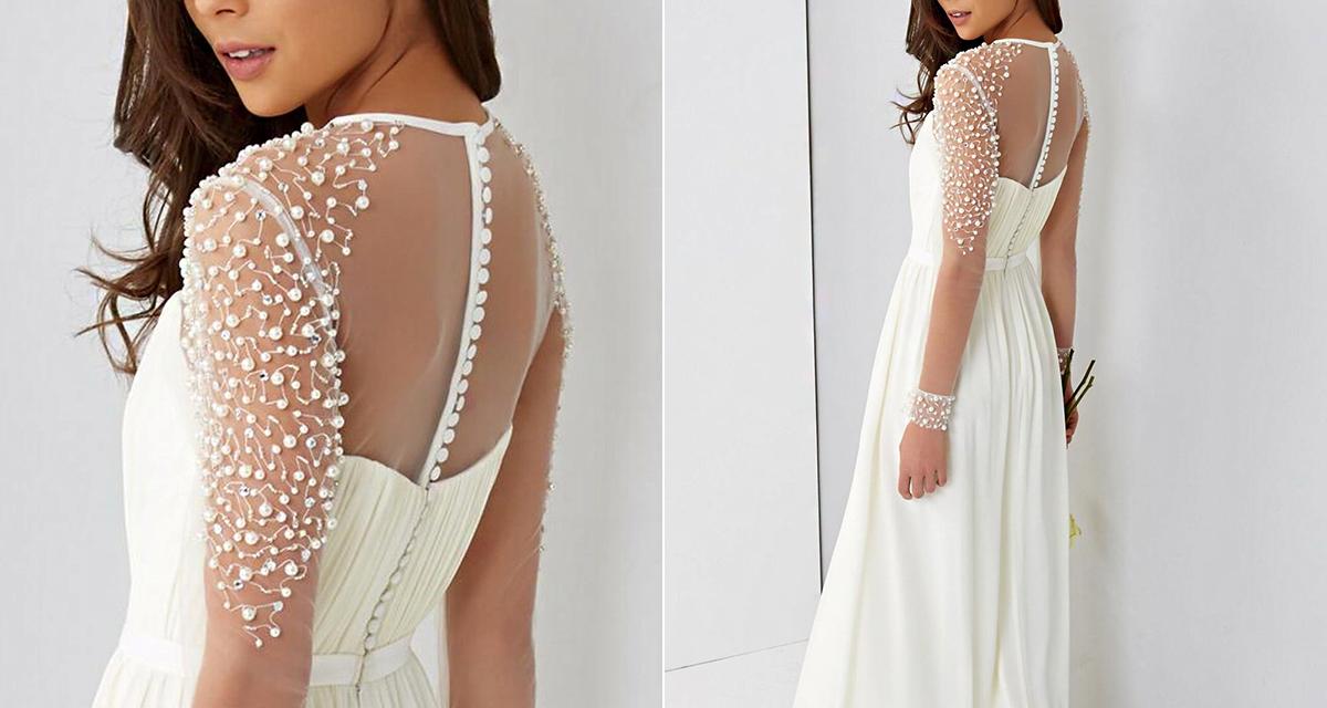 Gyöngyök az esküvőn: nemcsak nyakláncként viselheted