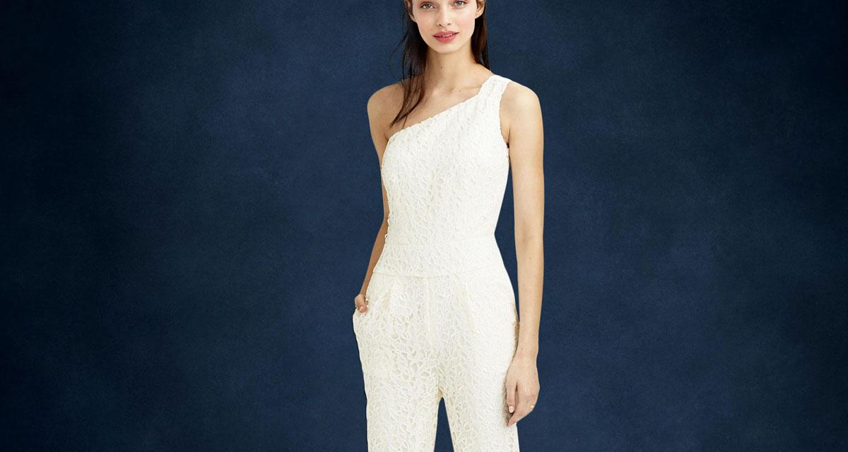 Elegáns, nőies overallok az esküvőre: ha nem vonz a hercegnős ruha