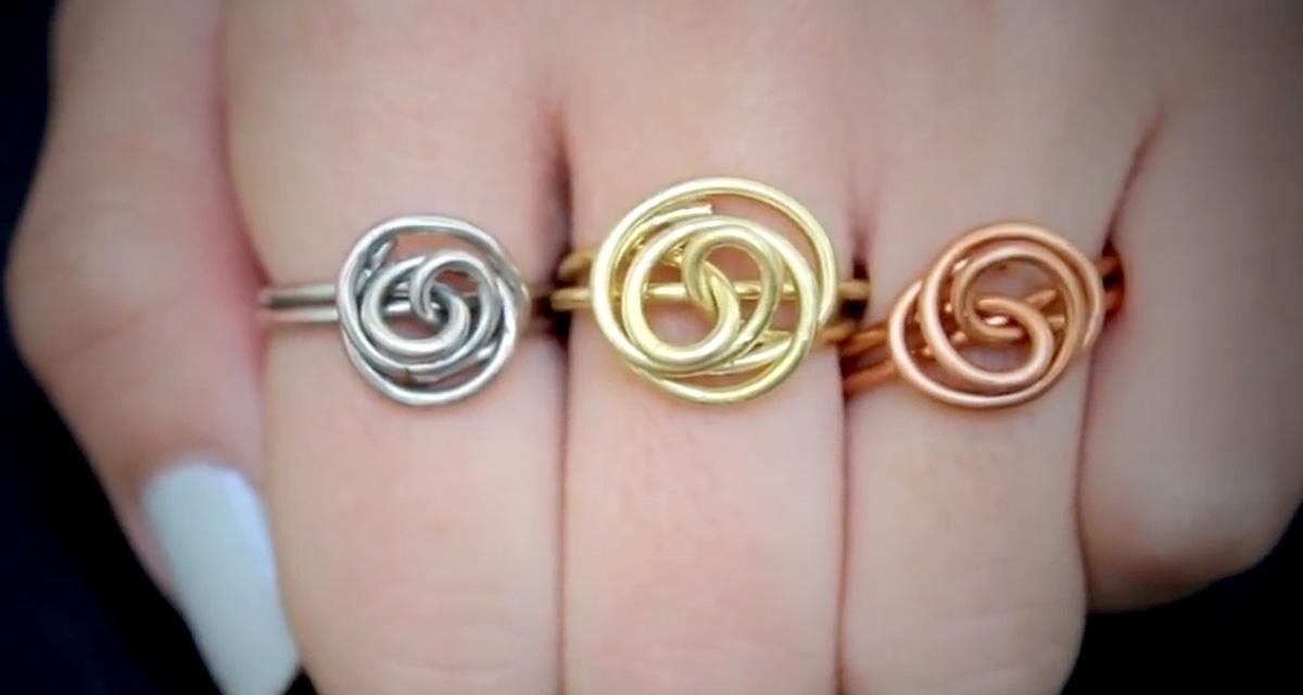 Rózsás gyűrű házilag: percek alatt elkészítheted