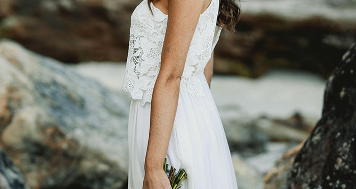 Elképesztően nőies ruhák vízparti esküvőhöz
