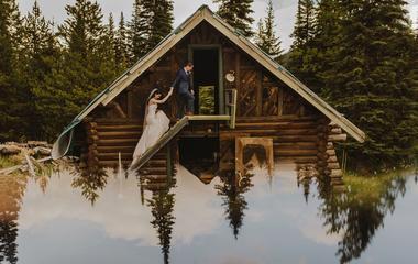 Zseniális trükk az esküvői fotóhoz: még romantikusabb lesz tőle a kép