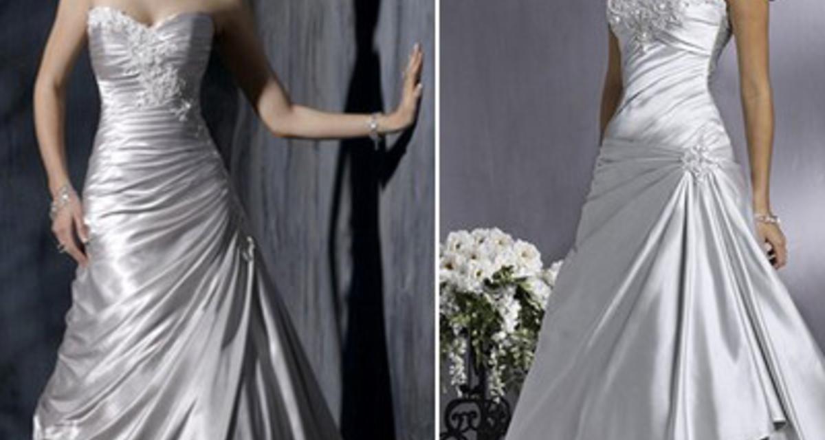 Színes menyasszonyi ruhák különleges esküvőkre