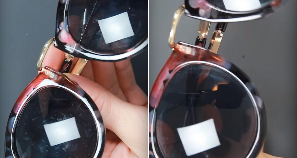 Karcos a napszemüveged? Javítsd meg fogkrémmel egy perc alatt