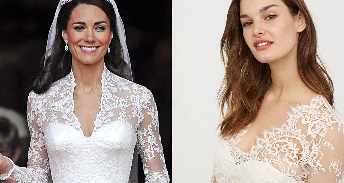 Katalin hercegné esküvői ruhájában mehetsz férjhez: a H&M lemásolta a híres fazont