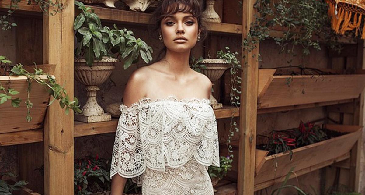 Szebbet nem is álmodhatnál: lélegzetelállító csipkés esküvői ruhák