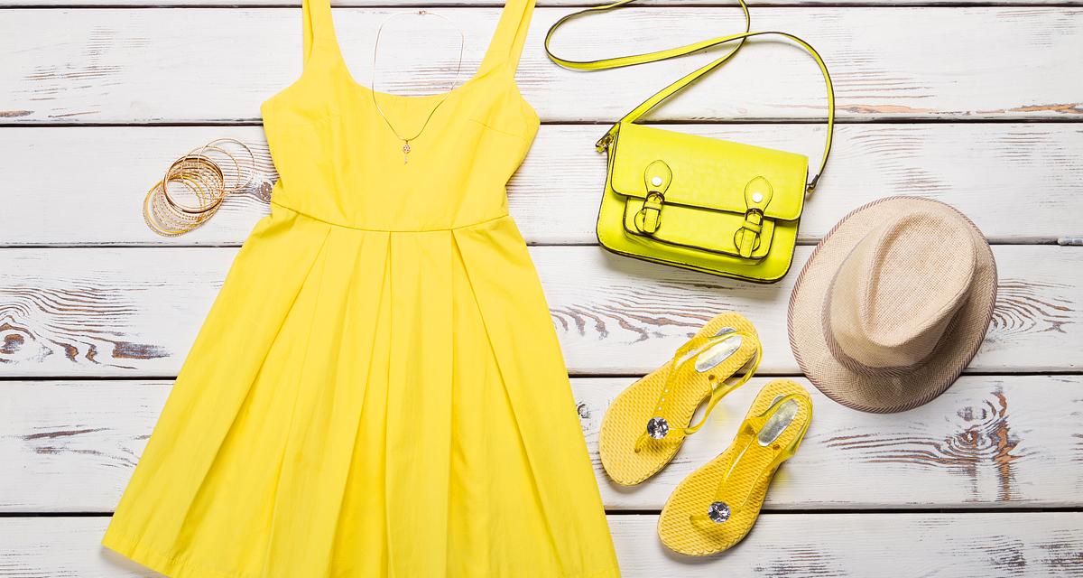 Így viseld a gyönyörű sárgát, hogy ne keltsen bazári hatást! Inspiráló nyári szettek
