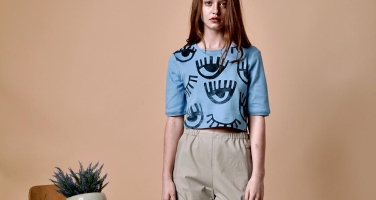 Elhunyt énekes szemei néznek vissza a magyar tervező ruháiról - Beango tavasz-nyár