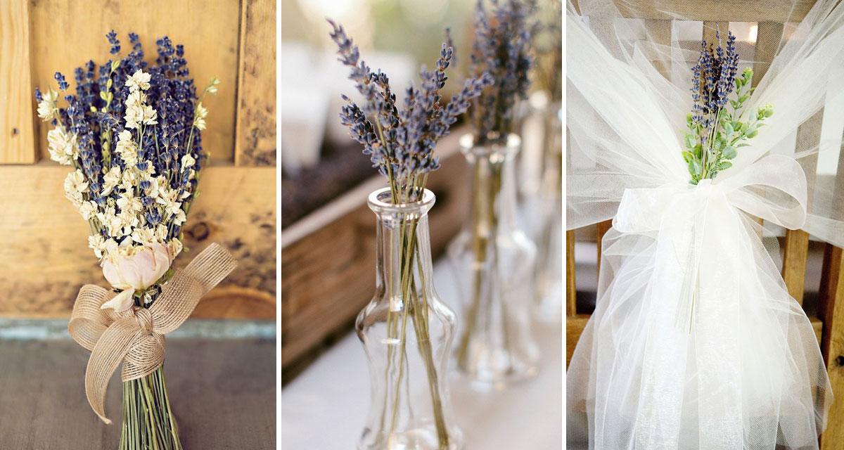 Levendula az esküvőn: illatos, romantikus és csodaszép
