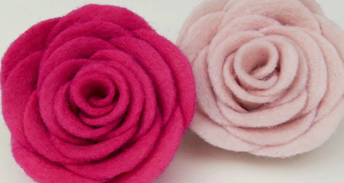 Gyönyörű rózsák az esküvőre, filcből: ezek biztosan nem hervadnak el