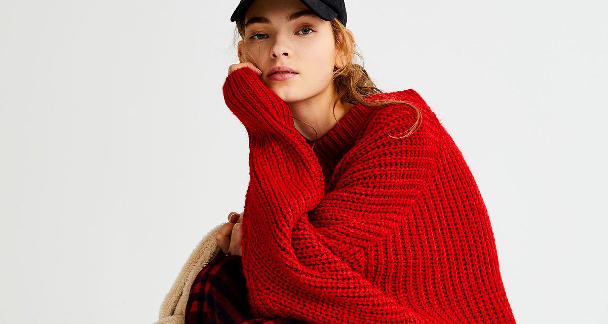 20 tűzpiros ruhadarab, amivel befűthetsz a télnek