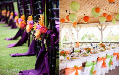 A legjobb színkombók őszi esküvőre: itt megtalálod az igazit