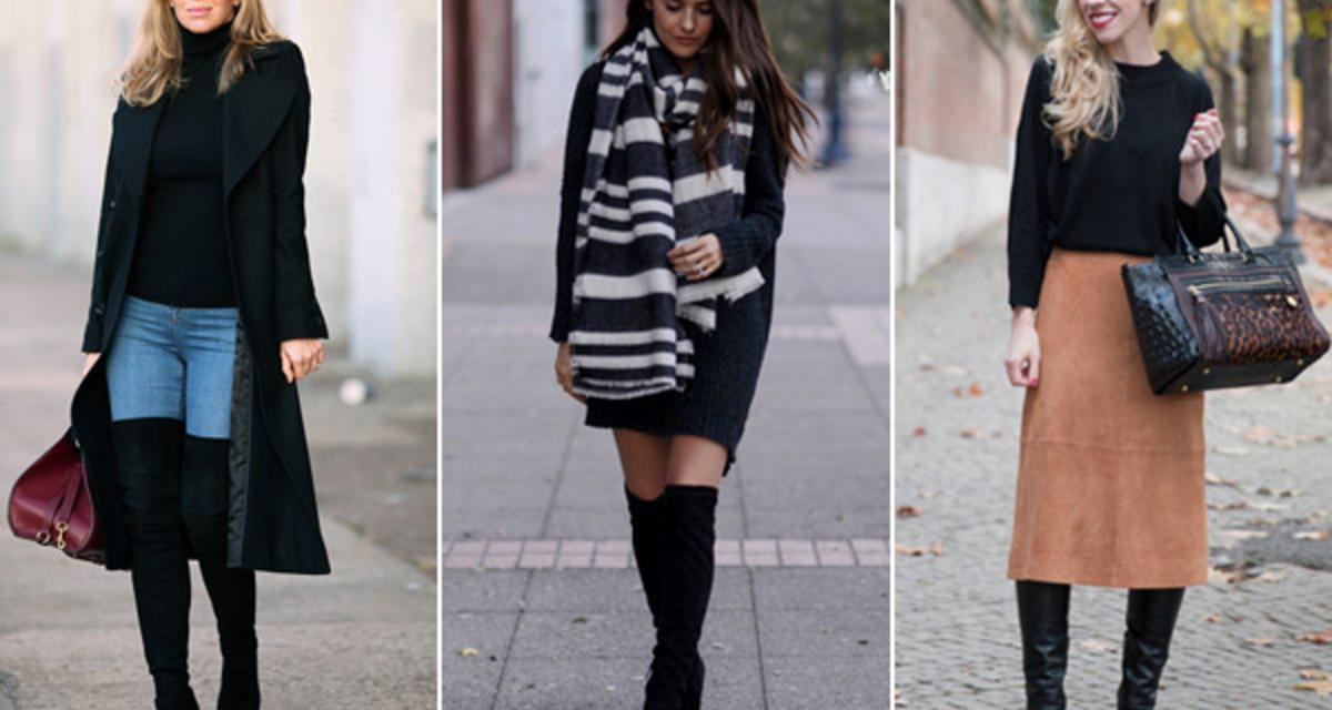 10 outfit hosszú szárú csizmával, ami dögös, de nem túlzás
