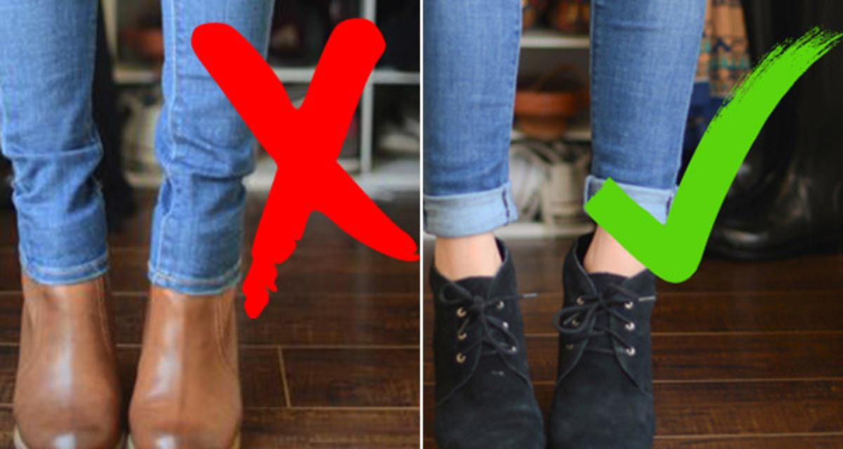 Melyik nadrághoz milyen cipő illik? - Egy képen minden, amit tudnod kell