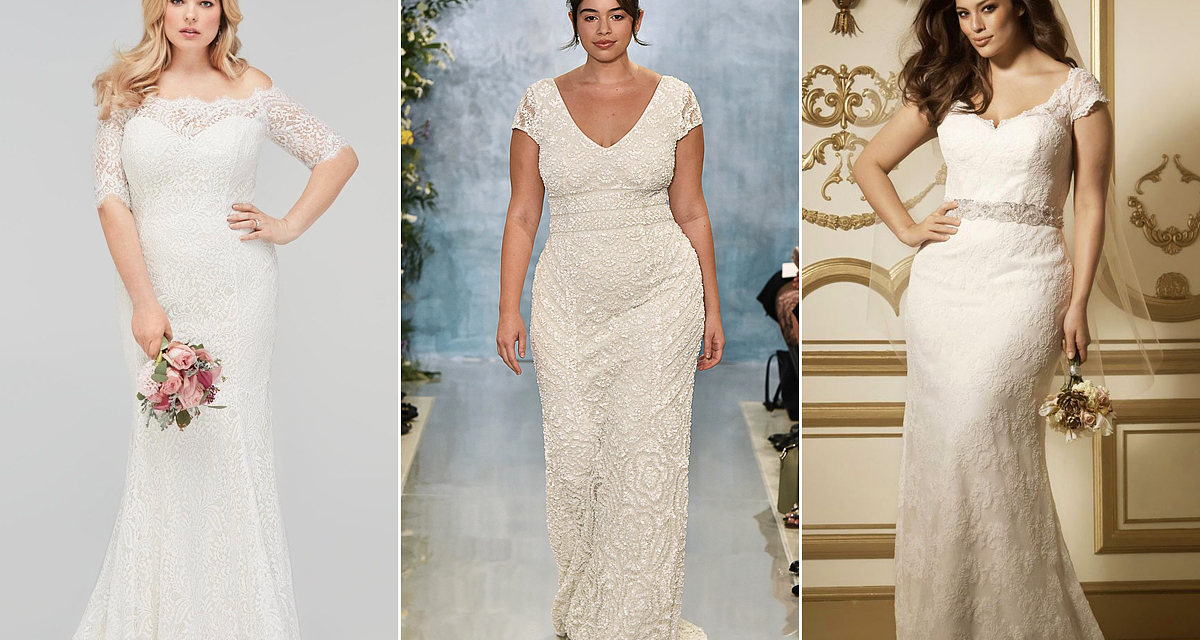 13 tavaszi álomruha az esküvőre, melyet homokóra alakra szabtak