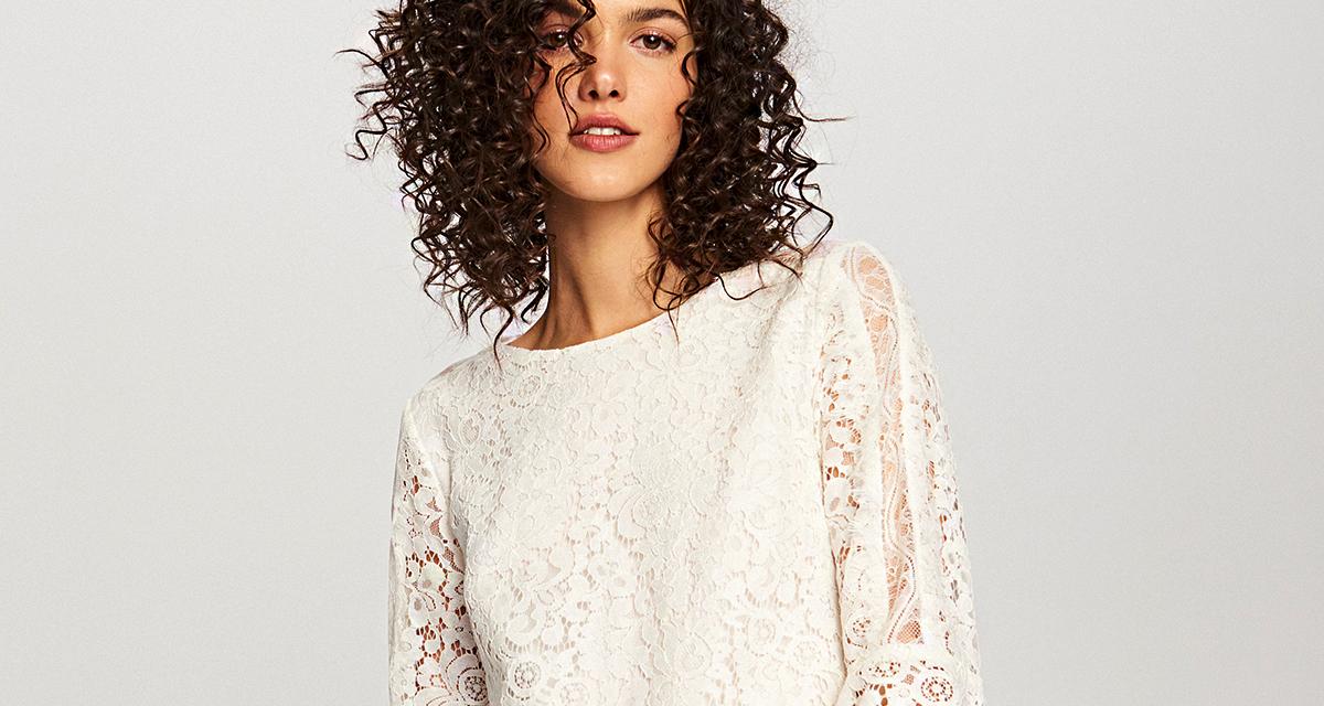 Gyönyörű, tavaszias fehér ruhák: nem kell esküvői szalonba menned értük - Árakkal