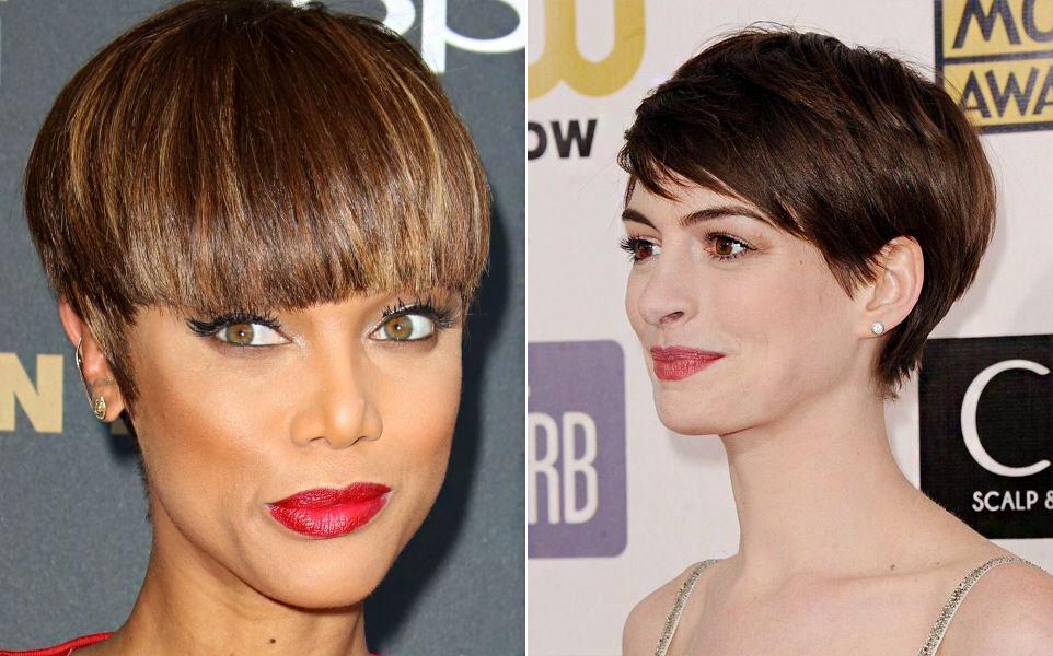 Tyra Banks és Anne Hathaway ilyen fizurát viseltek, mielőtt újra megnövesztették a hajukat.
